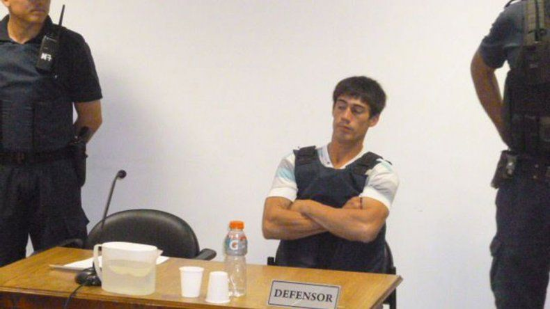 Erwin Jaramillo está imputado por el homicidio de Ricardo Pineda.