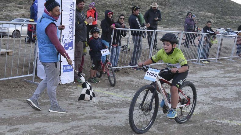 El biker Kevin Thomás Díaz se impuso en Infantiles A.