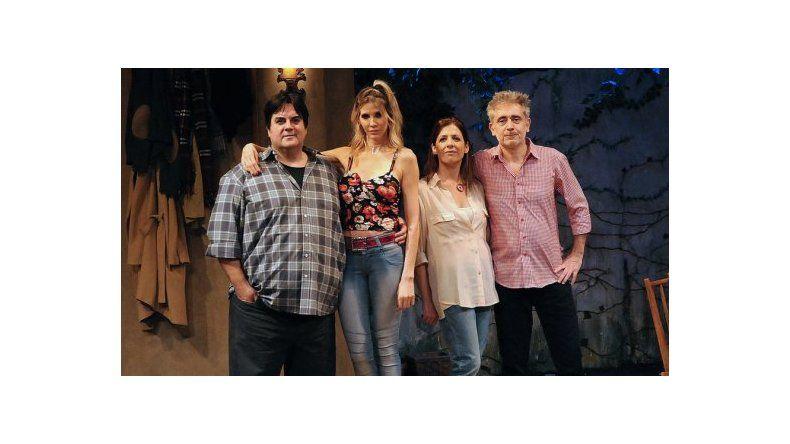 Guillermina Valdes debió suspender una función del teatro por problemas de salud