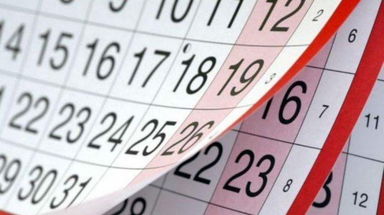 ¿Hay feriado puente el 19 de junio?