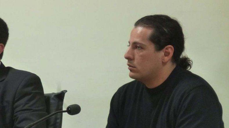 Dicker Bacar cuando fue imputado por la fiscal Cecilia Codina de homicidio culposo en octubre del 2015. Estaba prófugo de la Justicia desde setiembre de 2016.