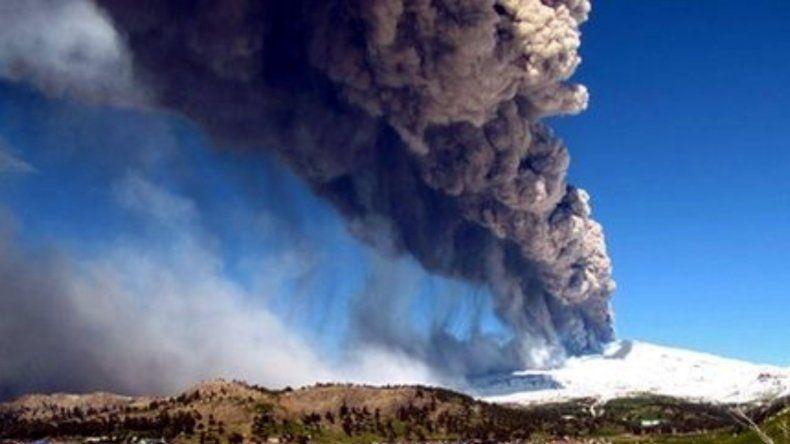 Se mantiene el alerta amarilla tras el nuevo pulso eruptivo del volcán Copahue
