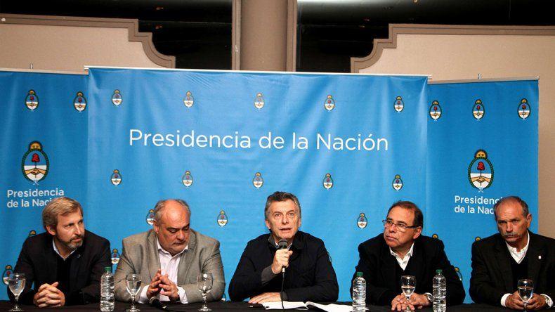 Mauricio Macri encabezó un acto con jubilados en Corrientes.