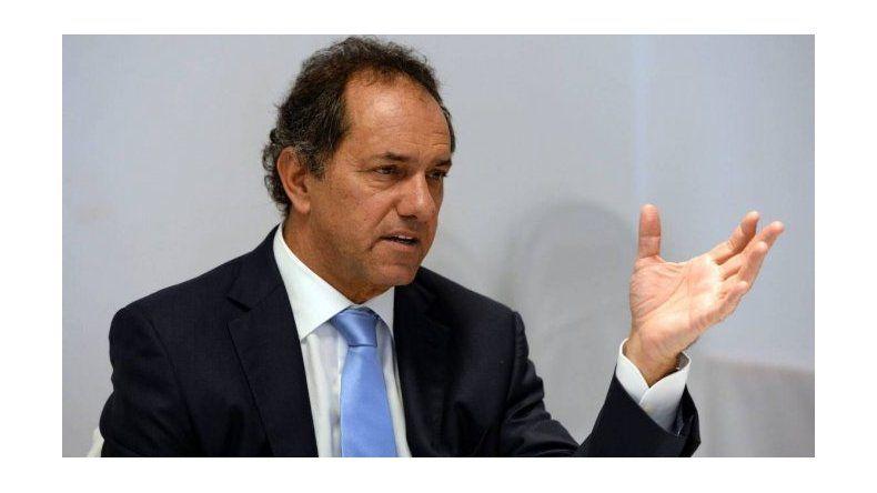 Scioli lanzará su precandidatura a Presidente