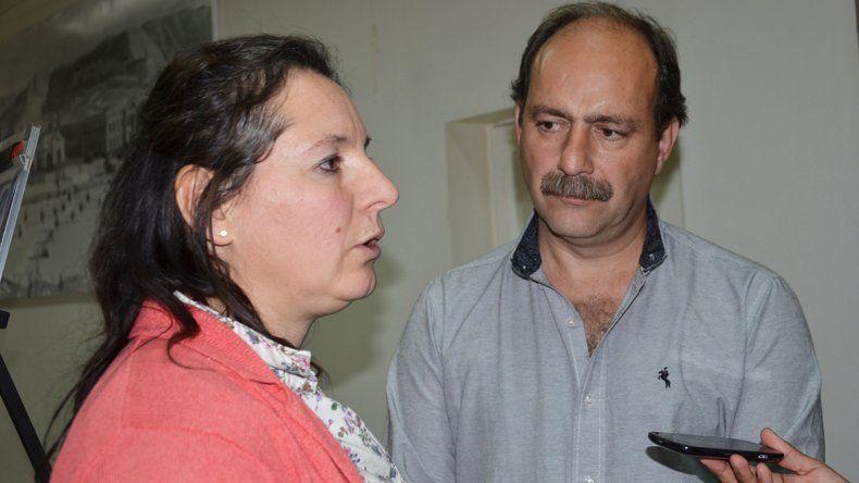 Graciela Ciselli y Marcelo Hernández