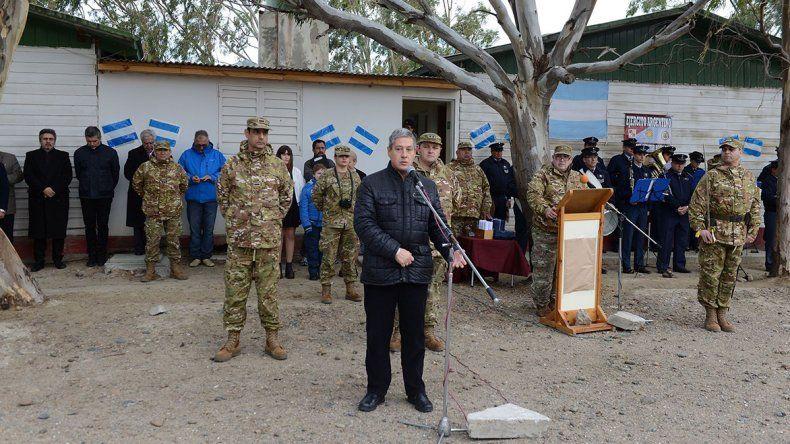 El municipio valoró el trabajo del Hospital Militar durante y después del temporal.