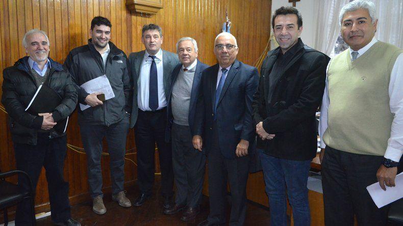 Representantes del municipio