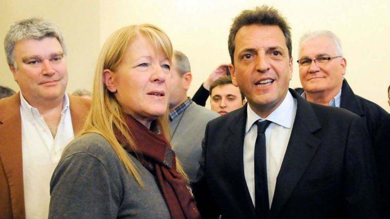 Margarita Stolbizer por el GEN y Sergio Massa por el Frente Renovador
