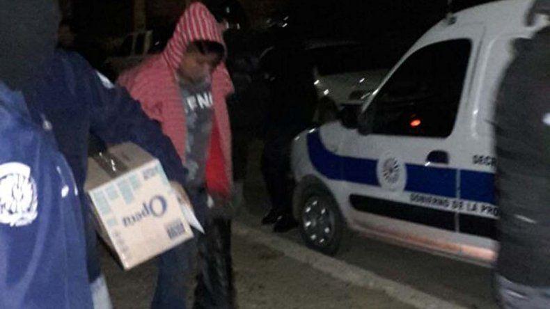 Andrés Pitu Almonacid pasará en principio 10 días en prisión preventiva por su vinculación al robo armado del barrio 9 de Julio.