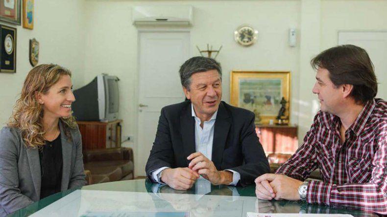 El intendente de Rada Tilly