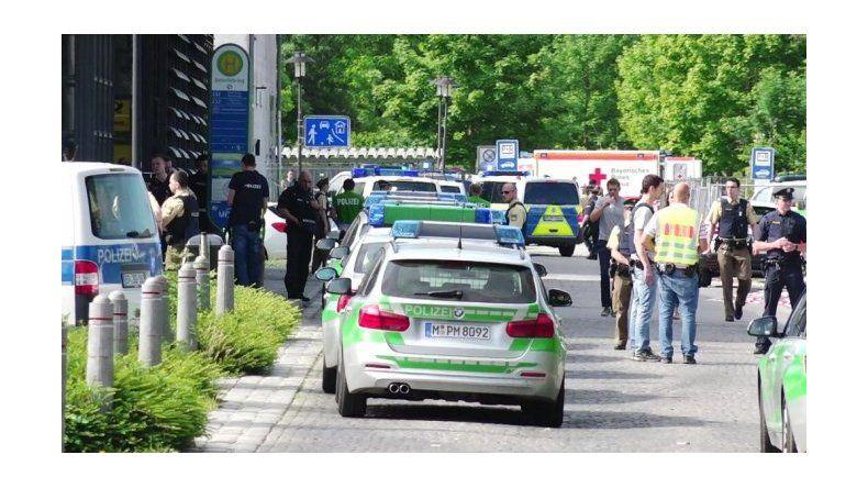 Tiroteo en la estación de trenes de Múnich deja cuatro heridos