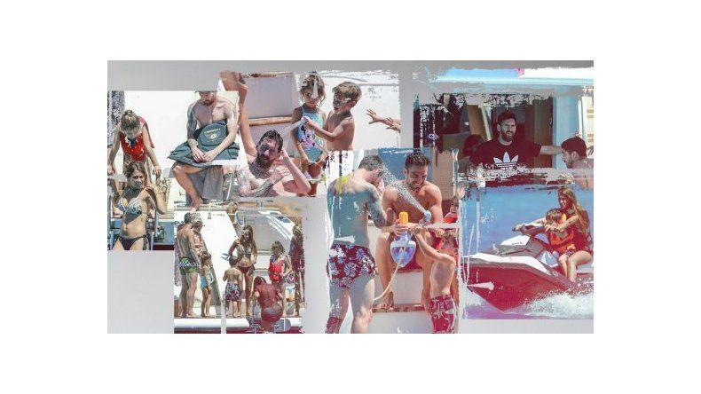 Las vacaciones de Messi y su familia en Ibiza