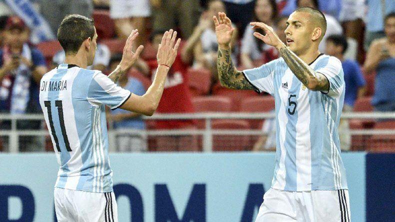 Argentina festejó media docena de goles ante un rival que no fue medida. A Sampaoli le sirvió para evaluar nuevos jugadores.