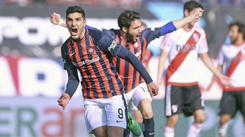 San Lorenzo viene de ganarle a River Plate 1-0.