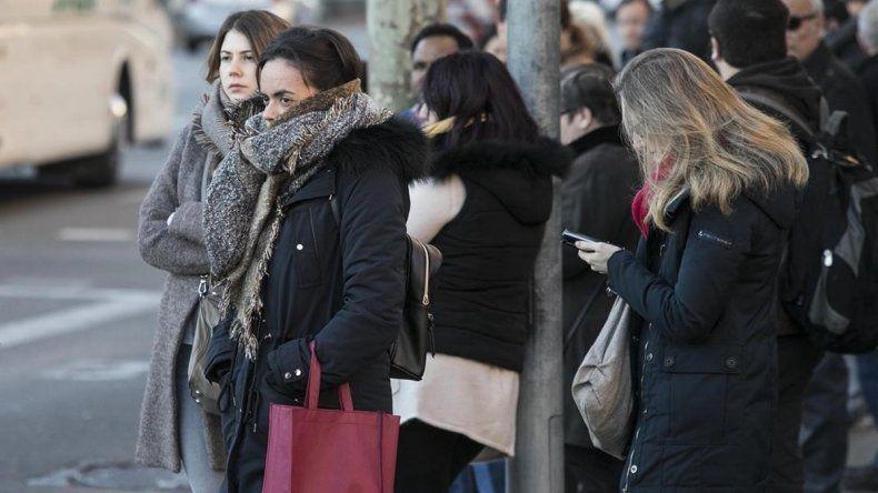 Siguen los días fríos: heladas y sensación térmica bajo cero