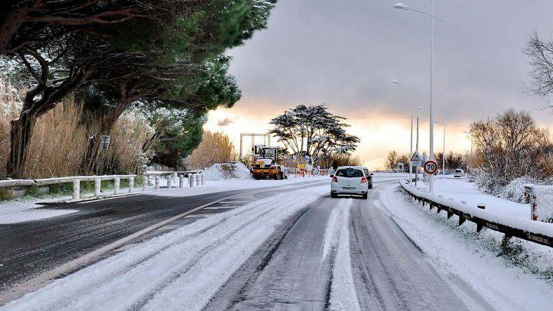 Recomendaciones para conducir con hielo y nieve