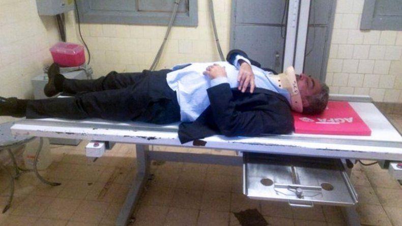 Un taxista golpeó al abogado de Cristina tras una discusión política