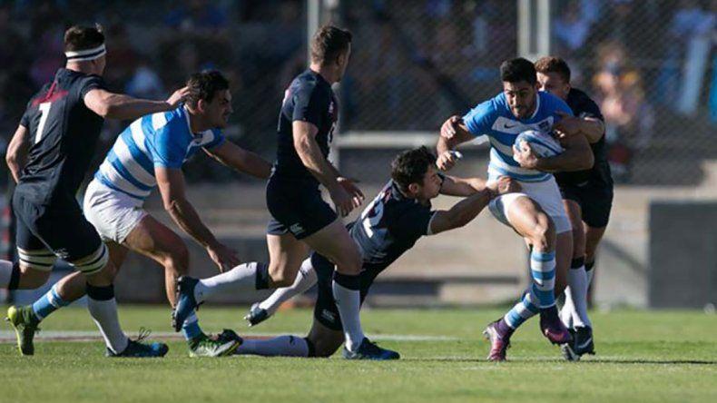 Los Pumas perdieron el sábado anterior sobre el final del partido frente a Inglaterra por 38-34.