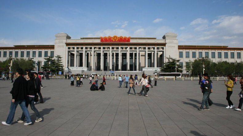 El Museo Nacional de China tiene entrada gratuita