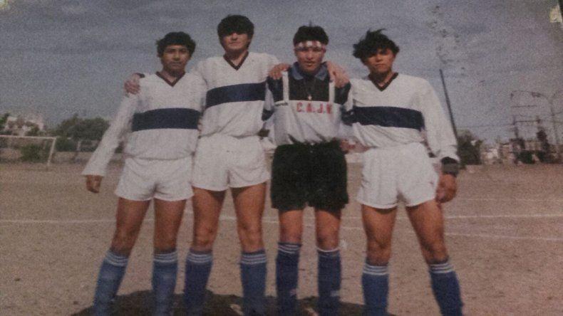En la Quinta División del Lobo con Fernando Millán a su izquierda