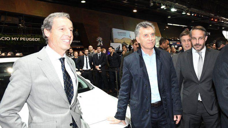 Macri se reunió con empresarios del sector automotriz.