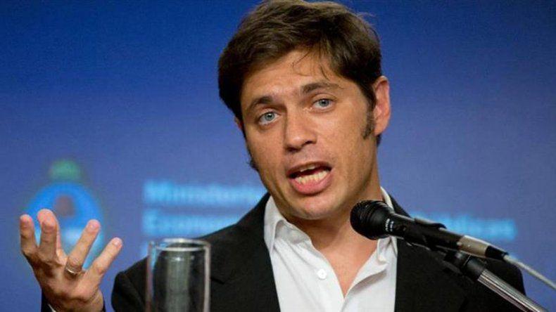 Kicillof cuestionó la política de endeudamiento del Gobierno de Mauricio Macri.