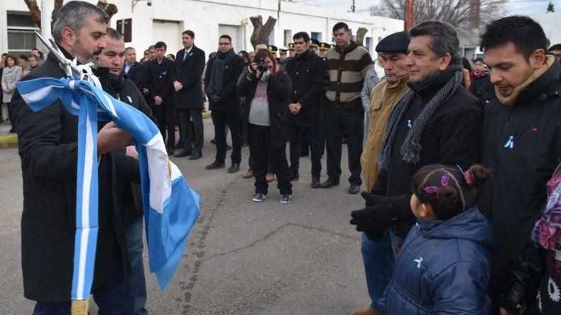 El diputado Sergio Bucci y el secretario de Gobierno de la comuna