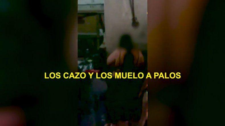 Desnudaban y azotaban a las mecheras en La Salada