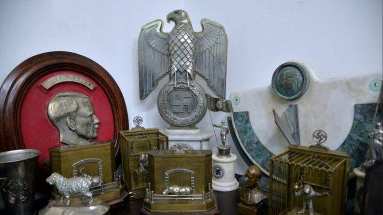 Encontraron 75 objetos nazi destinados al mercado negro