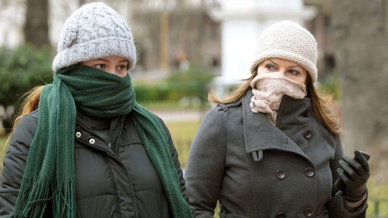 Las bajas temperaturas castigan a casi todas las provincias del país.
