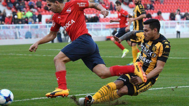 Independiente viene de empatar con Olimpo y ya no depende de sí mismo para clasificar a la Copa Libertadores.