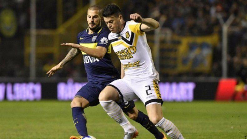 Boca festejó su título con un empate ante Olimpo