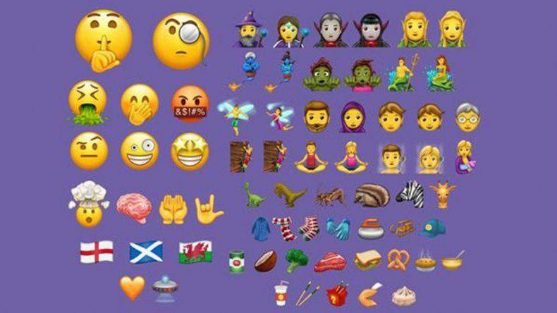 Los emoticones que estrena WhatsApp