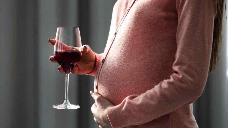 Beber luz de cristal durante el embarazo