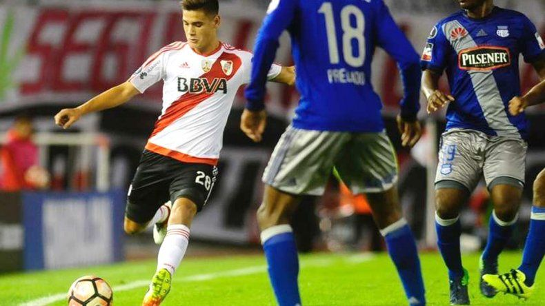 Lucas Martínez Quarta dio positivo en el partido frente a Emelec en mayo pasado.