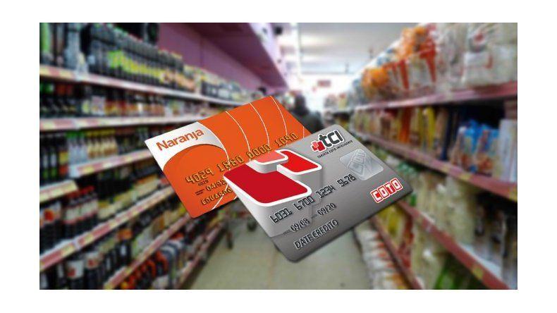 Suben los intereses de las tarjetas de los súper y shoppings