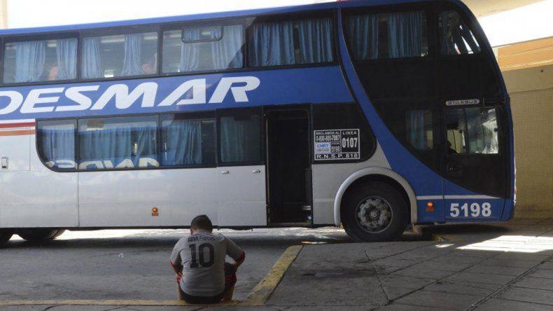 En el viaje que duró 14 horas entre Comodoro Rivadavia y Puerto Madryn