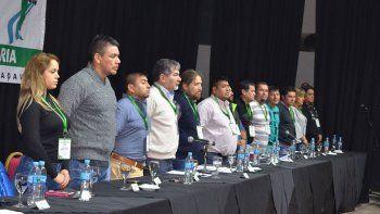 La asamblea que se desarrolló ayer en Comodoro Rivadavia.