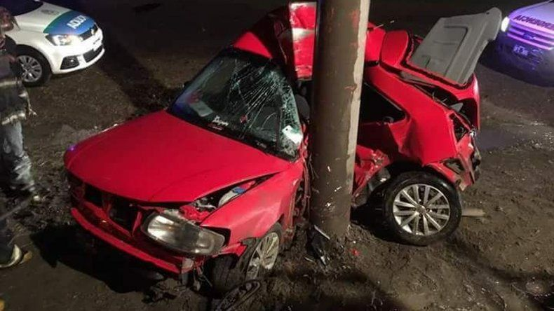 Accidente fatal en Ruta 3. Foto: El Patagónico
