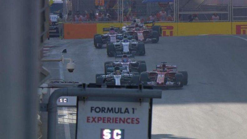 Sebastian Vettel chocó a propósito a Lewis Hamilton