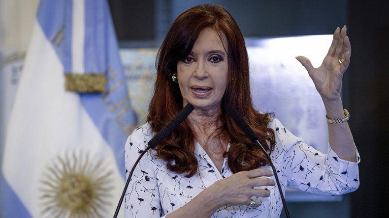 Cristina Fernández (Frente de Unidad Ciudadana).