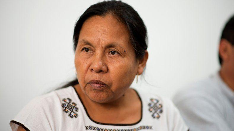 María de Jesús Patricio Martínez es conocida popularmente como Marichuy.