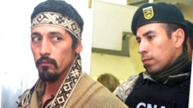 La defensa de Jones Huala argumenta que no puede ser extraditado a Chile