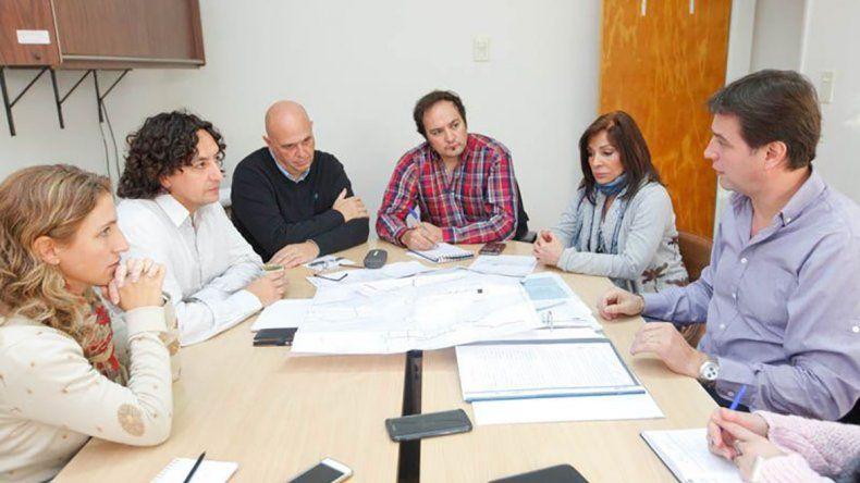 El encuentro que Juncos mantuvo con los concejales de su comuna.