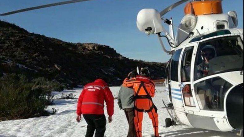 Prefectura rescató a un anciano con signos de deshidratación