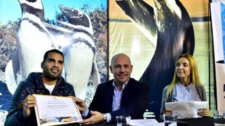 Gabriel Mercado, embajador deportivo de Madryn