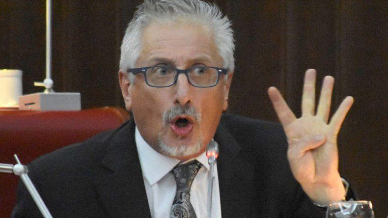 El diputado Jerónimo García pidió