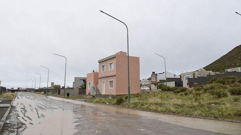 El sector de Rada Tilly donde se produjo uno de los asaltos.