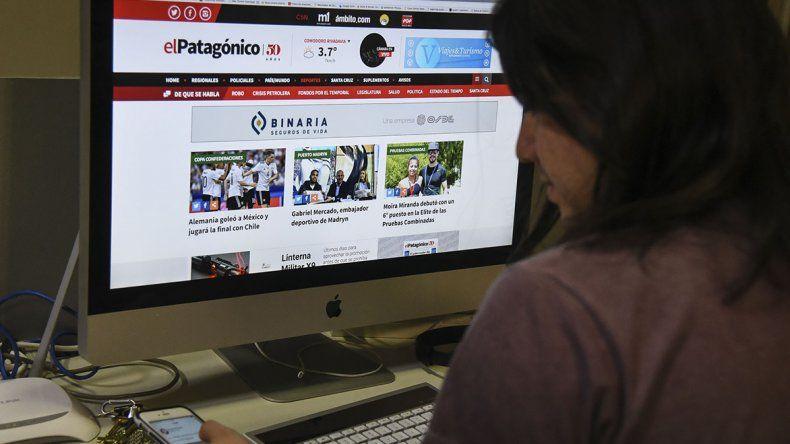 La edición online ofrece un lenguaje multimedia y un diseño responsivo adaptado al dispositivo con el que el usuario accede a internet.