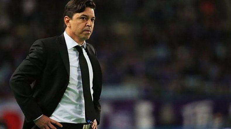 Marcelo Gallardo espera que no surjan nuevas ventas y admitió que la salida de Driussi no se la esperaba.